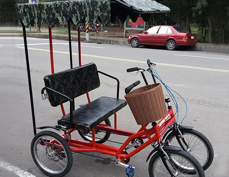 Bicycle Tourist Cart Lovers style