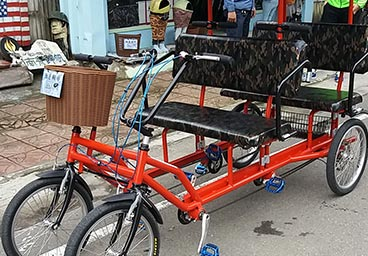 Rickshaw for 4 person