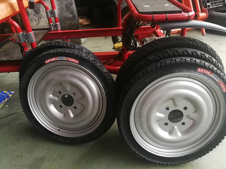 Electric Mini Truck-Solid tires(China tire)