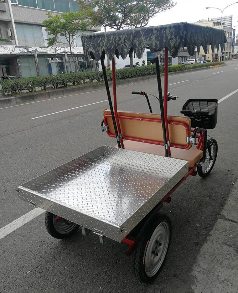 Electric mini truck- Sizes for truck pallet (cargo bed)